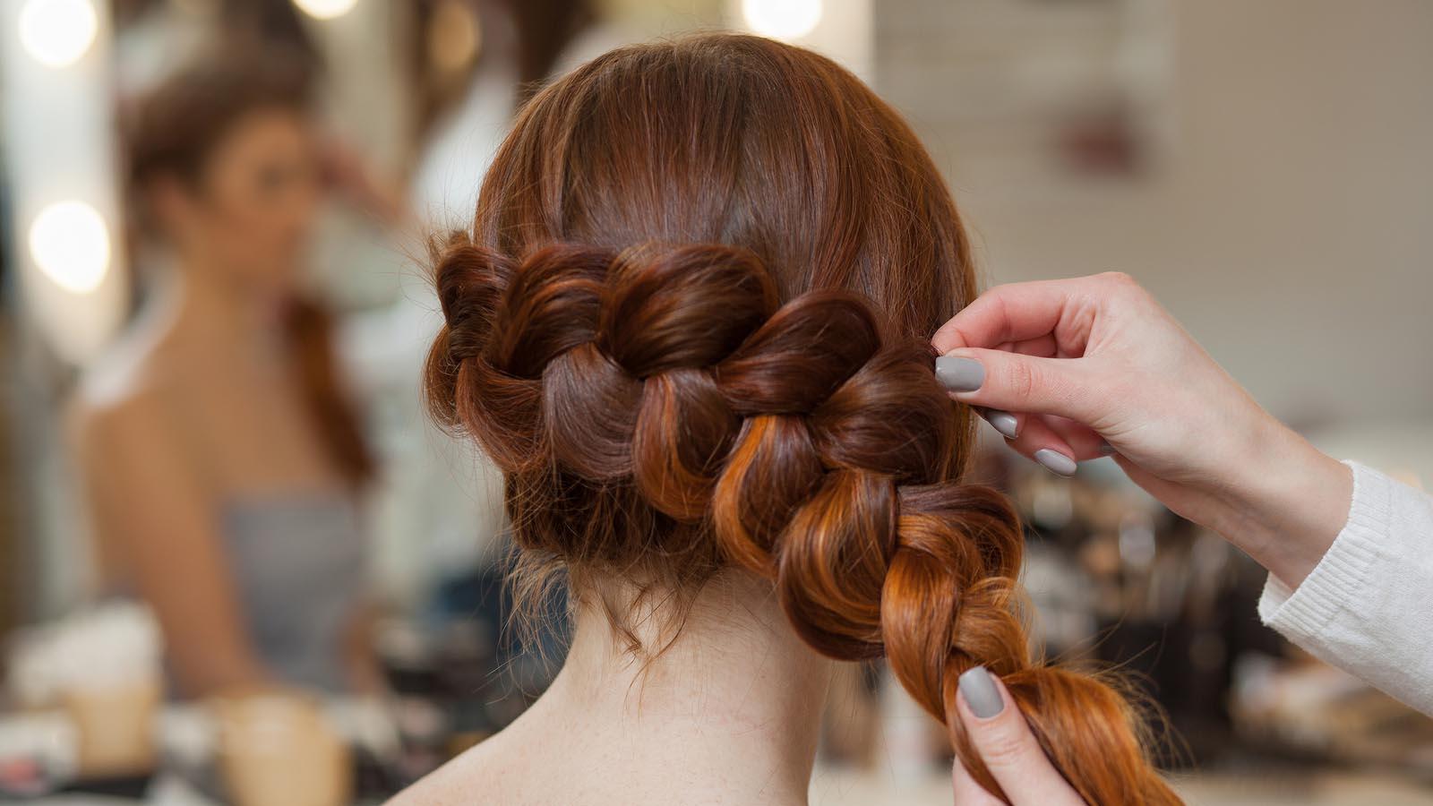 Wedding Studio Hair In